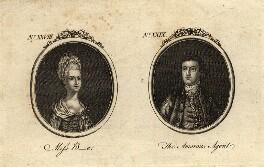 Elizabeth Bride; John Calcraft the Elder, after Unknown artist - NPG D2126