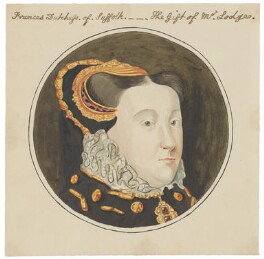 Mary Neville, Lady Dacre, after Hans Eworth - NPG D2130