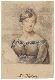 Maria Dickons (née Poole), possibly after Marie Anne Bourlier - NPG D2140