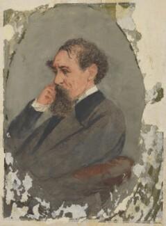 Charles Dickens, after John & Charles Watkins - NPG D2141