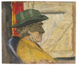 Roger Fry, by Ray Strachey, late 1920s or early 1930s - NPG D215 - © National Portrait Gallery, London