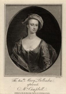 Mary Campbell (née Bellenden), by James Heath, published by  George, George and John Robinson - NPG D2153