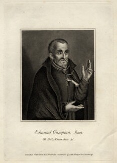Edmund Campion, after Unknown artist - NPG D2158