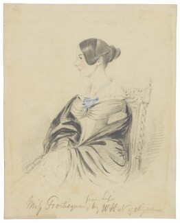 Miss Fortisque, by W.H. Nightingale - NPG D2161
