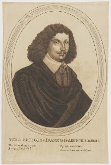 John Gamble, after Thomas Cross - NPG D2164