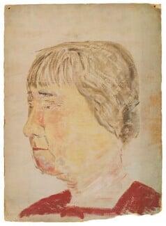 Mary ('Molly') MacCarthy (née Warre-Cornish), Lady MacCarthy, by Ray Strachey - NPG D217