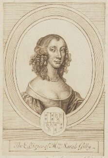 Sarah Gilly, after William Faithorne, after  Sir Peter Lely - NPG D2172