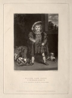 John Crewe, 2nd Baron Crewe, by Samuel William Reynolds, published by  Hodgson, Boys & Graves, sold by  Sir Francis Graham Moon, 1st Bt, after  Sir Joshua Reynolds - NPG D2175