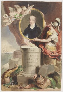 Charles Grey, 2nd Earl Grey, by Unknown artist - NPG D2185