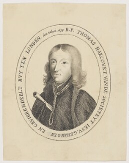 Thomas Whitbread (Thomas Harcourt), after Unknown engraver - NPG D2191