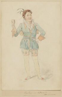John Pritt Harley, probably by (Isaac) Robert Cruikshank - NPG D2192