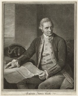 James Cook, by John Keyse Sherwin, after  Nathaniel Dance (later Sir Nathaniel Holland, Bt), published 1 August 1784 - NPG D2201 - © National Portrait Gallery, London