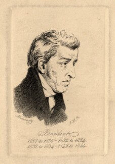 Abraham Cooper, by F.H.R., after  William Mulready - NPG D2205