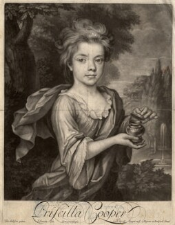 Priscilla Cooper, by John Simon, after  Thomas Gibson - NPG D2208