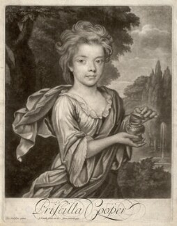 Priscilla Cooper, by John Simon, after  Thomas Gibson - NPG D2209