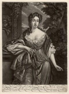 Elizabeth Coryton (née Chiverton), by Isaac Beckett, after  Sir Godfrey Kneller, Bt - NPG D2215
