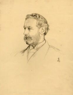 Francis Thomas de Grey Cowper, 7th Earl Cowper, after Violet Manners, Duchess of Rutland - NPG D2219