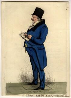 William Crockford, by Thomas Howell Jones - NPG D2228