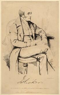 John Wilson Croker, by John Kirkwood, after  Unknown artist - NPG D2229