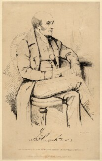 John Wilson Croker, by John Kirkwood, after  Unknown artist, 1830s or after - NPG D2229 - © National Portrait Gallery, London