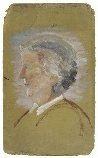 Alys Whitall Russell (née Pearsall Smith), by Ray Strachey - NPG D223