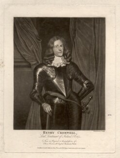 Henry Cromwell, by Robert Dunkarton, after  Unknown artist - NPG D2231