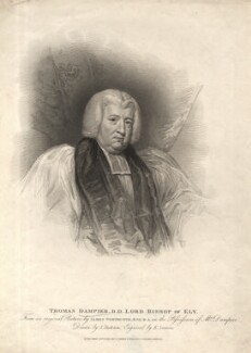 Thomas Dampier, by Edward Scriven, published by  T. Cadell & W. Davies, after  John Jackson, after  James Northcote - NPG D2248