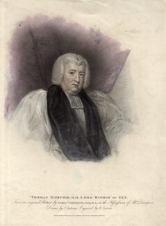 Thomas Dampier, by Edward Scriven, published by  T. Cadell & W. Davies, after  John Jackson, after  James Northcote - NPG D2249
