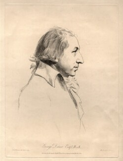 George Dance, by William Daniell, after  Nathaniel Dance (later Sir Nathaniel Holland, Bt) - NPG D2252