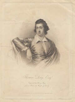 Thomas Day, by Henry Meyer, after  Joseph Wright - NPG D2256