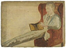 Adrian Stephen, by Ray Strachey - NPG D226