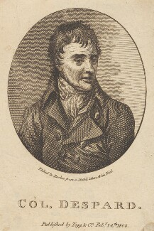 Edward Marcus Despard, by Barlow, published by  Thomas Tegg - NPG D2267