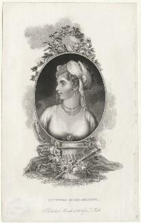 Elizabeth Christiana Cavendish (née Hervey), Duchess of Devonshire, published John Bell - NPG D2270