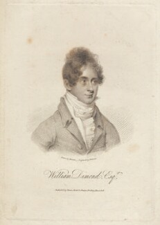 William Dimond, by Samuel Freeman, published by  Vernor, Hood & Sharpe, after  Bennett - NPG D2276