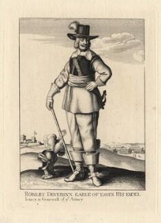 Robert Devereux, 3rd Earl of Essex, after Wenceslaus Hollar - NPG D2314