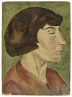 Alix Strachey, by Ray Strachey - NPG D232