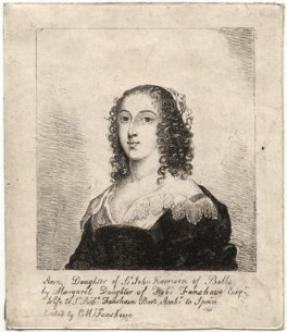 Ann (née Harrison), Lady Fanshawe, by Catherine Maria Fanshawe, after  Cornelius Johnson (Cornelius Janssen van Ceulen) - NPG D2325
