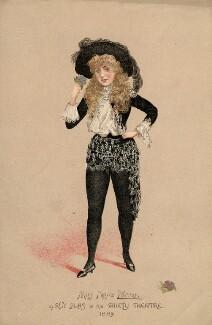 Ellen ('Nellie') Farren as Ruy Blas, after Unknown artist - NPG D2330