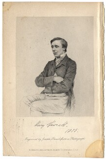 Henry Fawcett, by Joseph Brown, after  Unknown photographer - NPG D2333