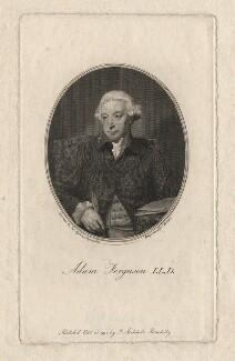 Adam Ferguson, by John Beugo, after  Sir Joshua Reynolds - NPG D2337