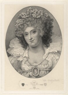 Maria Anne Fitzherbert (née Smythe), after Richard Cosway - NPG D2344