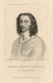 Charles Fleetwood, by R. Cooper, after  Robert Walker - NPG D2347
