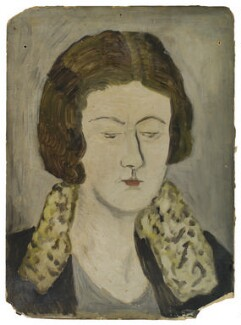 Julia Frances Strachey, by Ray Strachey - NPG D235