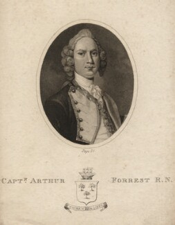 Arthur Forrest, by R. Page - NPG D2355
