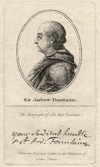 Sir Andrew Fountaine, after Unknown artist - NPG D2360