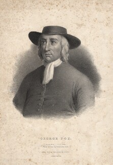 George Fox, by Thomas Fairland, after  Unknown artist - NPG D2364