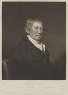 John Forbes, by William Ward, after  John James Masquerier - NPG D2387