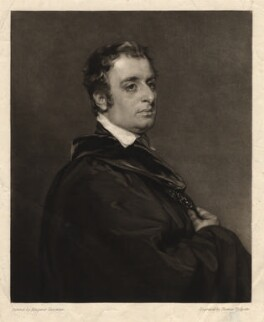 John Gage Rokewode when John Gage, by Thomas Hodgetts, after  Margaret Sarah Carpenter - NPG D2391