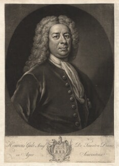 Henry Gale, by John Faber Jr, after  Isaac Whood - NPG D2397