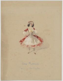 Céline Montaland, by Hippolyte-Omer Ballue - NPG D24
